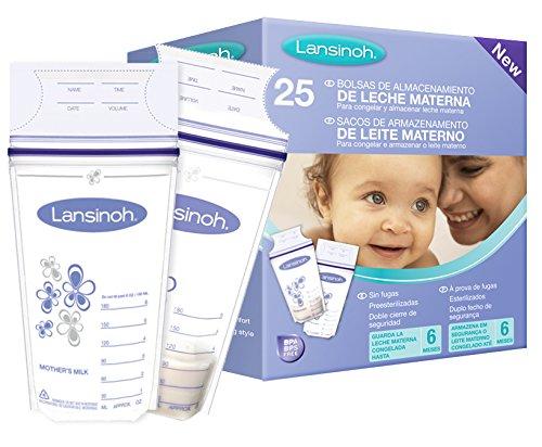 Lansinoh 44210 Sacche per la Raccolta del Latte Materno