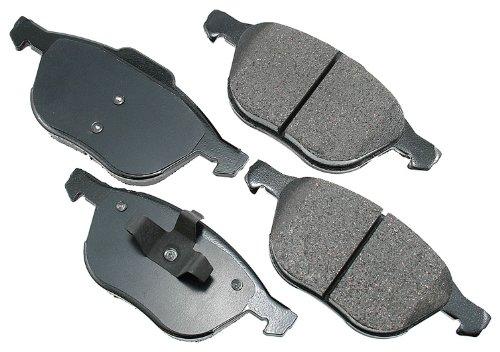 Akebono ACT1044 ProACT Ultra-Premium Ceramic Brake Pad Set
