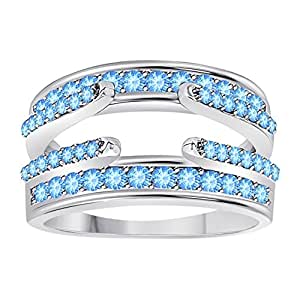Amazon.com: .925 Sterling Silver Plated Combination Curved