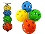 WIFFLE BALL 4PC/SET 2.75'' 4AS, Case of 96