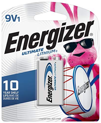 Energizer 9V Lithium Batteries