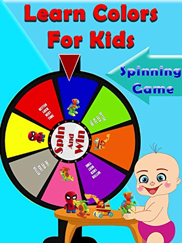 Learn Colors For Kids - Spinning - Games Prime Kids