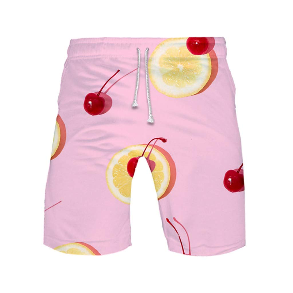 X-Armor Mens Casual Classic Fit Beach Shorts