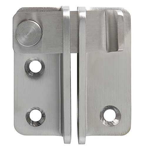 Gate Slide Heavy Duty (Alise MS3005 Gate Latches Heavy Duty Latch Safety Door Lock,Stainless Steel Brushed Nickel)