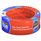Scotchblue Painter's Tape Delicate Surfaces with  Advanced Edge-LOCK Paint Line Protector, 1.41 inch x 60 yd, 16 per Case