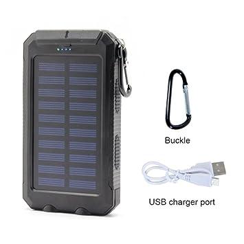 TYJH Cargador Solar 10000Mah Panel Móvil Fuente De ...