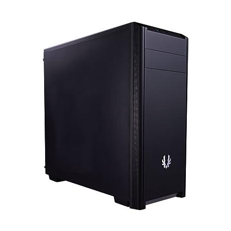 BitFenix Nova Carcasa de Ordenador Negro - Caja de Ordenador (PC, De plástico, Acero, ATX,Micro-ATX,Mini-ITX, Negro, 16 cm, 32 cm)