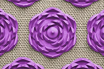 Pranamat ECO Therapeutic Manual Massage Mat (Natural Lavender)
