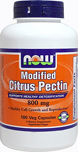 (NOW Foods Modified Citrus Pectin 800 mg-180 Vegetable Capsules)