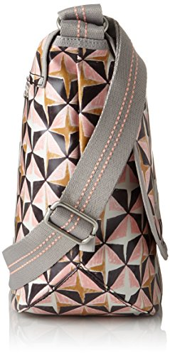 T B Sacs Lori Shoulderbag Rose cm 14x29x40 Oilily portés Lhf Geometrical épaule femme H x IqwdUP