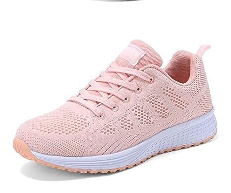 GUNAINDMX Shoes/Shoes/Winter/New/All-Match/Leisure/Pink/Air/Running Shoes,Thirty-Five,Deep Blue - Net Surface