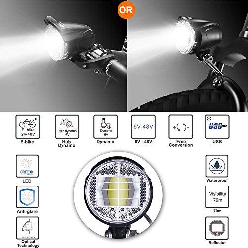 fahrradlicht vorne zugelassen k 1119 retro fahrradlampe. Black Bedroom Furniture Sets. Home Design Ideas