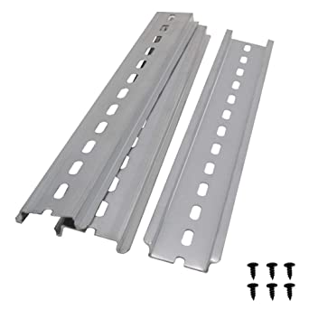 10-Pak DIN Rail 250mm*35mm*7.5mm Aluminum