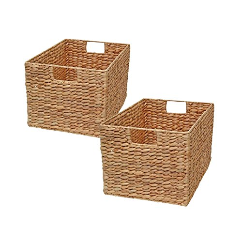 Set of 2 Hyancinth Decorative Storage Baskets
