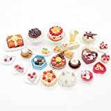 ORCARA Miniature Dollhouse The Story of Cake Cookie Dessert Toy Doll Accessories