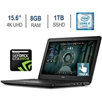 Dell Inspiron 15.6 Touchscreen 4K UHD (3840 x 2160) IPS Gaming Laptop PC (2017 Newest), Intel Core i7-6700HQ, 8GB RAM, 1TB SSHD, NVIDIA GTX 960M Graphics, Bluetooth, Backlit Keyboard, Windows 10