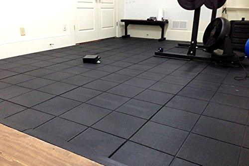 Incstores Evolution Rubber Floor Tiles Equipment Mats