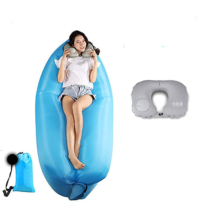 Sofa Hinchable Piscina Camping Parque Portátil Impermeable Aire ...