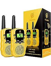 EUCOCO Geschenken voor kinderen van 3 tot 12 jaar, walkietalkie kinderen vanaf 3 tot 10 jaar, kinderspelletjes, speelgoed vanaf 3 tot 12, geel