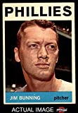 1964 Topps # 265 Jim Bunning Philadelphia Phillies (Baseball Card) Dean's Cards 5 - EX Phillies