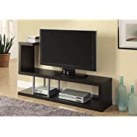 Monarch Hollow-Core TV Stand, 60-Inch, Cappuccino