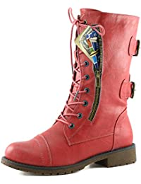 Amazon.com: Red - Boots / Shoes: Clothing, Shoes & Jewelry