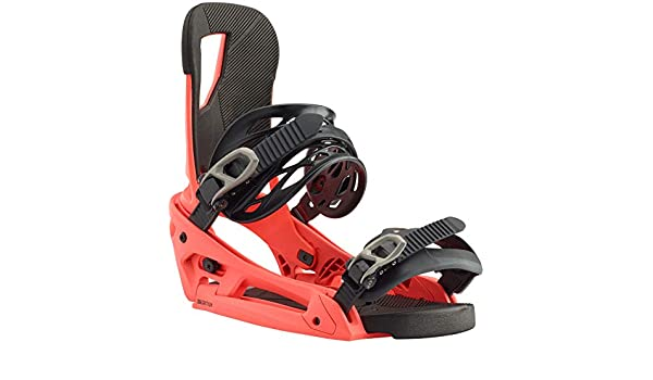 Burton Cartel EST Snowboard Binding Black/White, L: Amazon ...