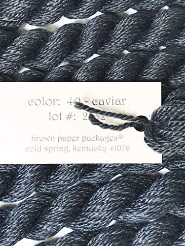 SILK & IVORY- CAVIAR-40-1 SKEINS with This -