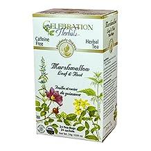 Celebration Herbals Marshmallow Leaf and Root Tea Organic 24 Tea Bag, 24Gm
