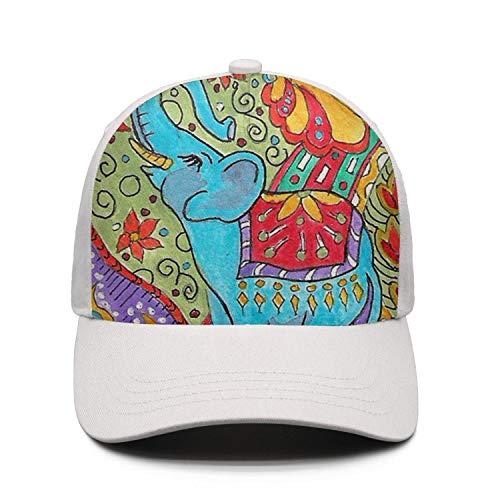 JJOJJ Vector Tattoo Elephant Mens Baseball Cap Snapback Dad Golf Hats for Men Women]()