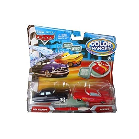 Amazon.com: Disney / Pixar CARS Movie 155 Color Changers 2Pack Doc on golf girls, golf handicap, golf accessories, golf tools, golf cartoons, golf trolley, golf machine, golf words, golf players, golf hitting nets, golf buggy, golf games, golf card,