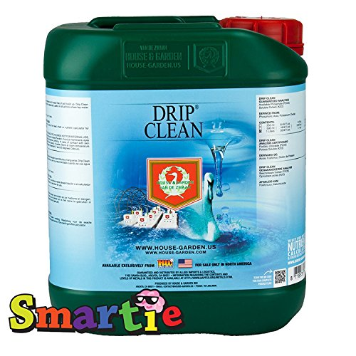 5l Garden - House & Garden HGDPC05L Drip Clean Fertilizer, 5 L