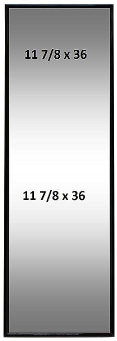 Amazon.com - 12x36 Frame 11-3/4 X 36 Poster Frame Thin Profile Vinyl ...