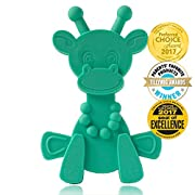 Baby Teething Toy Extraordinaire - Little bamBAM Giraffe Teether Toys by Bambeado. Our BPA Free Teethers help take the stress out of Teething, from Newborn Baby through to Infant.