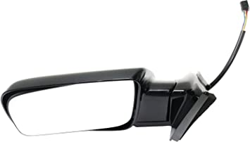 Side View Mirror Black Folding Manual Driver Left LH for Chevy GMC C//K Suburban