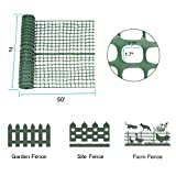 Abba Patio Snow Fence 2' X 50' Feet Plastic Safety