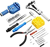 EZTool Watch Repair Kit with 16 Tools and 41-Page