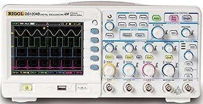Rigol DS1204B Digital Oscilloscopes - Bandwidth: 200 Mhz, Channels: 4