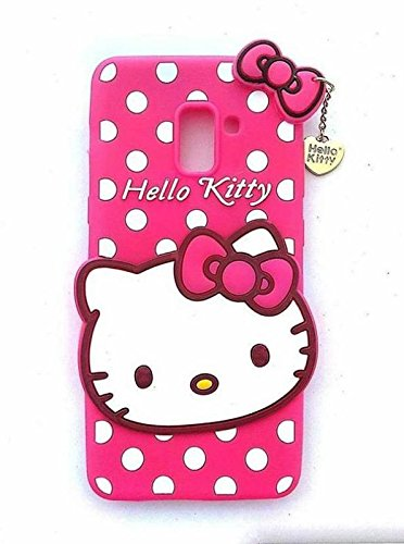 best sneakers bb1a5 0322c Anvika Cute Hello Kitty Back Case Cover for Galaxy J6: Amazon.in ...