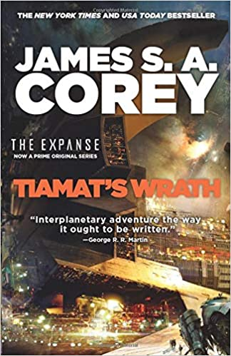 The Expanse #8. Tiamat's wrath book cover