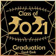 Guest Book Graduation Gift Graduate for the Graduate Class of 2019 Advice Book Graduation Graduation Party Words Of Wisdom 2019
