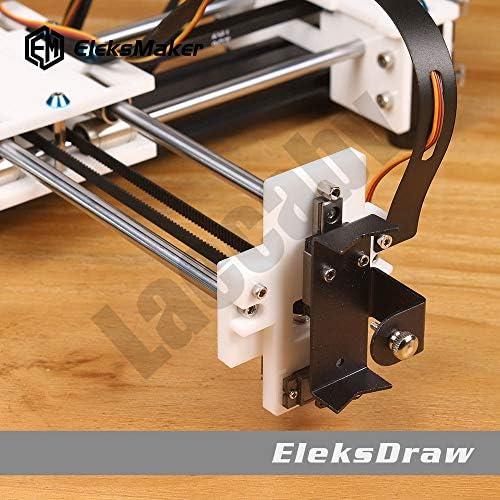 2 ejes DIY CNC XY Plotter Pen Desktop Drawing Robotics Alta precisión Auto Painting Writing Robot Kit CNC Fresadora Router: Amazon.es: Bricolaje y herramientas