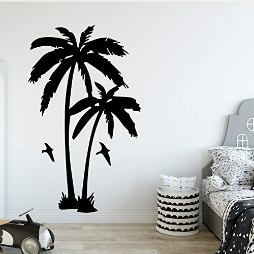 - Hot Sale Coconut Tree Plant Wall Sticker for Living Room Removable Vinyl Palm Trees Wall Decals for Nursery Room Decoration f1 30x49cm