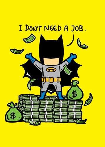 """""""Part-Time JOB No Job"""" Funny Parody Super Hero Rich Billiona"""
