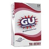 Gu Energy Gel-dietary Supplements, Tri-berry 24 Ea (Pack of 3)