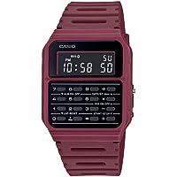 Casio CA-53WF-4B Calculator Red Digital Mens Watch Original New Classic CA-53