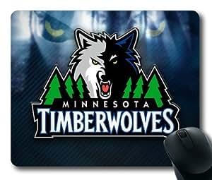 NBA Minnesota Timberwolves Logo Mouse Pad/Mouse Mat Rectangle by ieasycenter