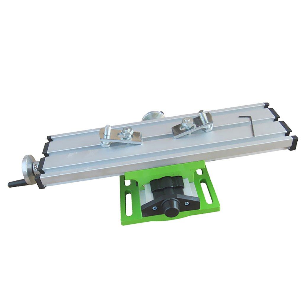 Sharplace Table De Travail Perceuse à Colonne Perçage Fraisage Composé Table Travail Banc Forage Étau