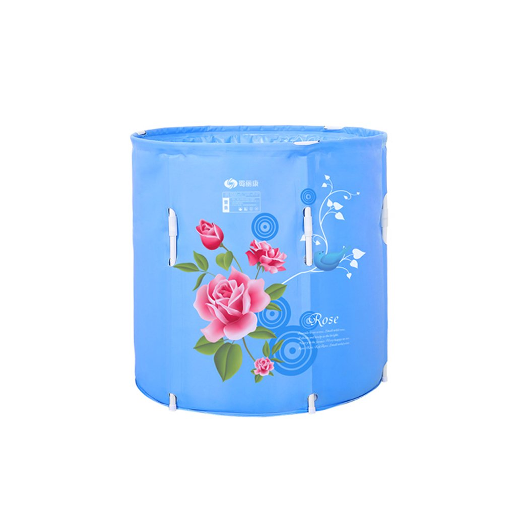Can be lifted portable folding bath adult comfortable bath tub home with children's pool bathroom SPA