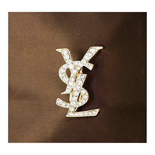 OYY Women's Fashion Brooch/Pin with Crystal and Pearl Designed Korean Style Colthes Acessory (YS)